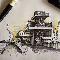 #sketch_arq by @m.ansari.architect