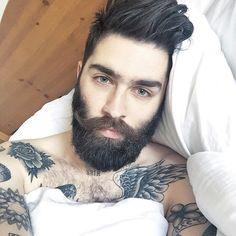 Chris John Millington: A Tattooed, Bearded Gentleman Fantasy Come true Hairy Men, Bearded Men, Men Beard, Chris Millington, Sexy Bart, Chris John, Beard Head, Beard Lover, Awesome Beards