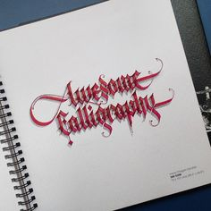 Awesome Calligraphy #calligraphychristmas #calligrafia #calligraphy#calligraphymasters #calligraphy #calligraffiti #calligraphyisalive #goodtype #thedailytype #typegang #typographyinspired #handmadefont #handtype #loveletters #calligrafia #gothic #gothiccalligraphy #pillotparallelpen #parallelpen #customtype #customfonts #customfont #customlettering #customtypography #creativeminds #creativefonts #creativefont #creativelettering #3dlettering #3dfonts #3dtypography #3dtype