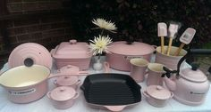 Le Creuset chiffon pink collection