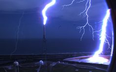KSC - it's a good thing they have lightning protection installed by certified lp contactors