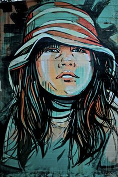 Street Art by Alice Pasquini Alice Pasquini is a visual artist from Rome who works as an illustrator, set designer, and painter. Alice's preferred canvases are city walls and she's traveled widely,. Amazing Street Art, Best Street Art, 3d Street Art, Street Art Graffiti, Fantastic Art, Street Artists, Graffiti Artists, Urban Street Art, Urban Art