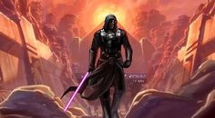 Revan is my favorite Star Wars character because he was once both a Sith and a Jedi. Known as a gray Jedi, Revan had mastery of both the light and dark side of the force and is not bound by any code to do whatever was necessary to save the galaxy. Star Wars Darth Revan, Star Wars Sith, Darth Vader, Starwars, Cyberpunk, Star Wars Kotor, Star Wars The Old, The Old Republic, High Fantasy