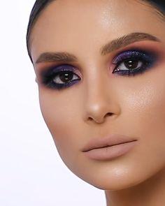 Simple Smokey Eye, Makeup Tutorials, Makeup Tips, Eyeshadow Guide, Bee Makeup, Simple Iphone Wallpaper, Smokey Eye Makeup Tutorial, Amazing Makeup, Beauty Room