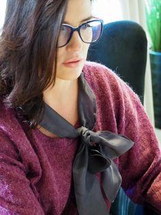 Ruffle Blouse, Glasses, Women, Fashion, Eyewear, Moda, Eyeglasses, Fashion Styles, Eye Glasses