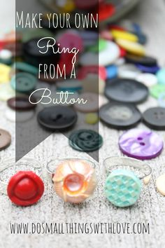 DIY Statement Molded Rings - Do Small Things with Love