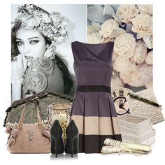 Love the look of the dress...I won't come back, created by mayanag.polyvore.com