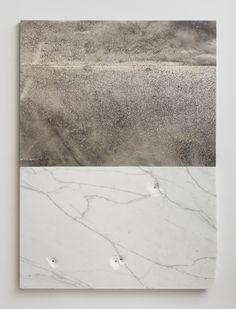 huldrapress:  Sam Moyer, Hydra, 2014, marble, ink on canvas mounted to mdf panel, 57 x 47 x .75 inches