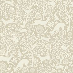 HAS01236 Neutral Forest Fauna - Anahi - Hide and Seek Wallpaper by Chesapeake