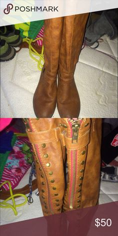 Tall riding boots new I love them just need the money Steve Madden Shoes Over the Knee Boots
