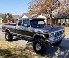 1979 Ford Truck, Old Ford Trucks, Ford 4x4, Lifted Trucks, Cool Trucks, Pickup Trucks, Lifted Dually, Classic Ford Trucks, Trucks And Girls