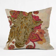 Valentina Ramos The Giraffe Throw Pillow | DENY Designs Home Accessories