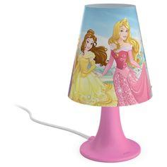 Königliche Disney Tischleuchte Princess