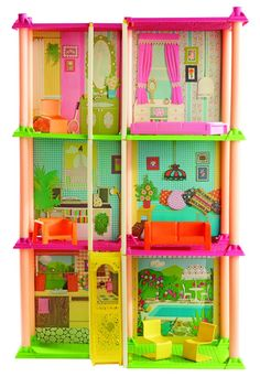 A Look Back at Barbie's Dreamhouse - Barbie's Dreamhouse Through the Years - Country Living