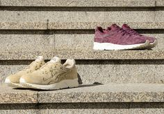 #sneakers #news  ASICS Adds Tonal Suedes To The GEL-Lyte V