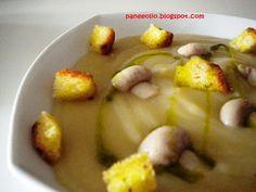 Pane e olio: Zuppa di patate, funghi e porro Bimby