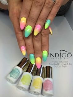 Gel Brush Saltwater, Coco Jambo, Banana Cocktail, Hola Lola by Indigo Educator…