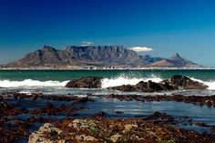 I used to swim in those rock pools. Mountain Drawing, Mountain Tattoo, Cape Town South Africa, Table Mountain, Rock Pools, Travel Memories, West Coast, Landscape Photography, Places To Visit