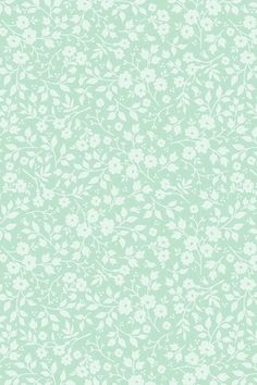 Lovely white Branches Green paper