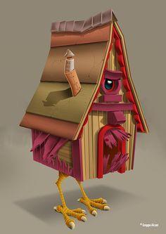 Pet Pals 5 Color Concept by David Sossella