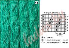 Lace Knitting Patterns, Knitting Designs, Knitting Projects, Stitch Patterns, Knit Purl Stitches, Knitting Stiches, Knitting Charts, Simply Knitting, Easy Knitting