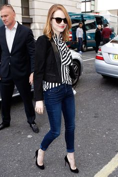emma stone 2014 street style - Google Search