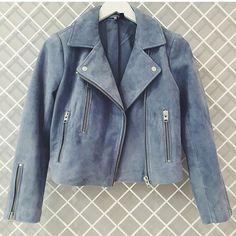 Jaqueta de suede