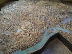 The Ancient World | bantarleton:   A scale model of Ancient Rome.
