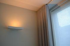 raambekleding na verbouwing, indirect licht. www.schaal1op1.com