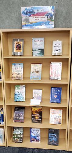 Bellevue University, Library Displays, Display Case, Titanic, Bookcase, Glass Display Case, Display Window, Bookshelves, Book Stands