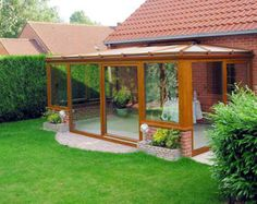 Výsledek obrázku pro zimní zahrada Gazebo, Pergola, Porches, Outdoor Structures, Frame, Gardens, Houses, Terrace, Front Porches
