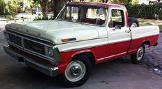 Me encantan las Pick Up!  FORD - F100 de 1972 Deluxe.