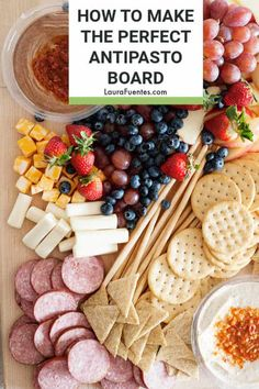How to make an easy sweet and savory antipasto platter Thanksgiving Recipes, Fall Recipes, Real Food Recipes, Holiday Recipes, Snack Recipes, Appetizers Table, Gourmet Desserts, Plated Desserts, Antipasto Platter