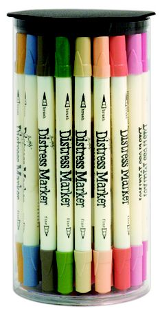 Ranger Ink - Tim Holtz - Distress Markers ... These are SO on my wish list!