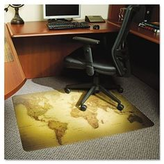 Office floor mat kansas city greencleandesigns pinterest office floor mat kansas city greencleandesigns pinterest office chair mat chair mats and desks gumiabroncs Images