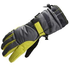 YOUMU High Quality Winter Waterproof Outdoor Ski Gloves Greyish Green Price: $16.10  Specification: Material: Nylon Color: Greyish-green Processing Method: Printing Pattern: Color Matching Properties: Warm, Windproof, Waterproof