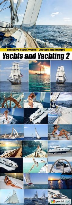 Yachts and Yachting 2  25xUHQ JPEG  stock images