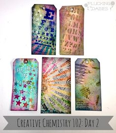 Creative Chemistry 102 | PluckingDaisies.com  #TimHoltz #RangerInk