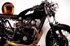 Cafe Racer Magazine | Once he had the bike in his possession he wheeled it into his living ...
