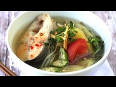 How to make Canh Chua (Vietnamese sweet and sour fish soup) this website has a lot of great authentic Vietnamese recipes!