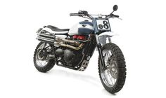 Triumph Scrambler/Flat Tracker by Tamarit Motorcycles