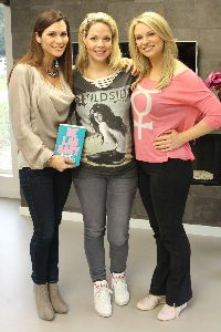 Roze Sack's shirt in Koffietijd!