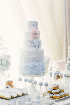 WedLuxe – Inspired By Frozen | Photography by: Artiese Studios  Follow @WedLuxe for more wedding inspiration!