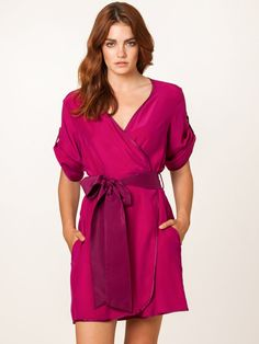 Weekender Fuchsia Robe