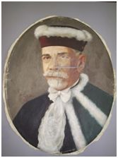 Sem Título, 1949. Óleo sobre tela, 60 x 47 cm. Autora: Antonieta Santos Feio.