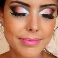 Make up, natural, evenings and fashion