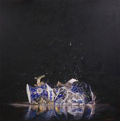 Image result for shattered vase