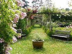 """Résultat de recherche d'images pour """"jardin roseraie"""""""