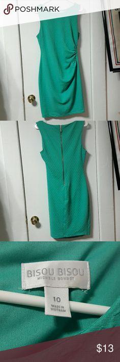 Bisou Bisou dress 🌼 Super cute teal/turquoise dress Bisou Bisou Dresses