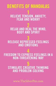 The benefits of mandalas